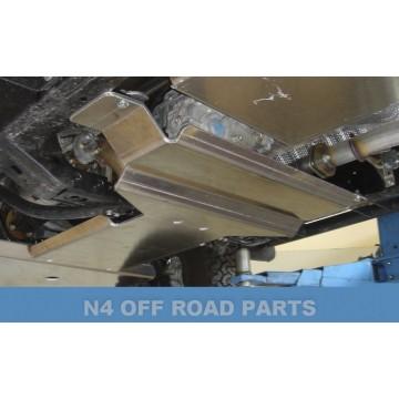 Protector cambio y transfer Duraluminio 8mm de N4 para Toyota FJ Cruiser