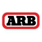 Herrajes para instalar tienda de techo ARB en barras portaequipaje Thule Aero Style (sección oval)