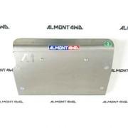 Protector Frontal y Carter Duraluminio 8mm ALMONT4WD para Toyota HZJ y BJ 70/71/73/74/75/78/79