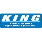 Pareja amortiguadores delanteros  KING 2.5 reserva remota para Mercedes G-Class 2013 en adelante