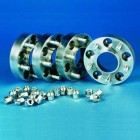 Separadores de rueda acero Hofmann 23/30mm para Mitsubishi IO (Pinin) / Outlander (con 7x18)/ ASX PCD 5x114,3