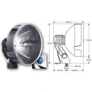 Faro Largo alcance de Lightforce  170mm 55w halogeno homologado CE