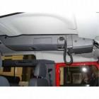 Consola de techo longitudinal de Outback Products para Land Rover Defender 110 +94
