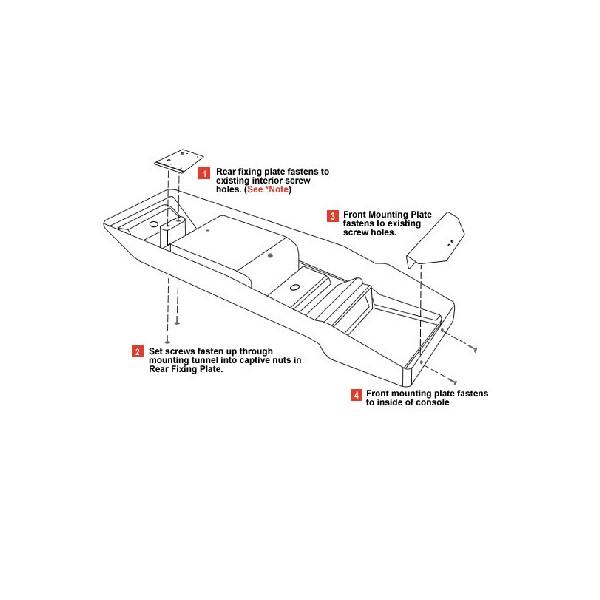 consola de techo longitudinal de outback products para