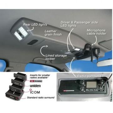 Consola de techo longitudinal de Outback Products para Nissan Navara D40 +06