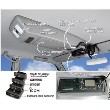 Consola de techo longitudinal de Outback Products para Toyota KDJ 120/125