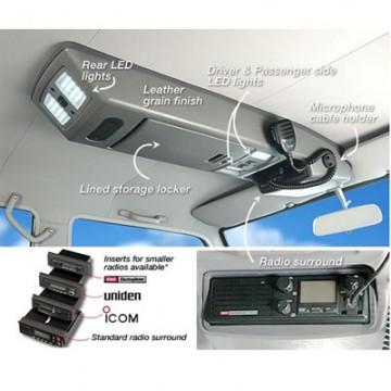 Consola de techo longitudinal de Outback Products para Toyota VDJ / UZJ 200