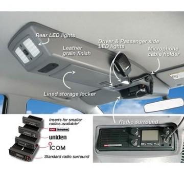 Consola de techo longitudinal de Outback Products para Toyota Hilux Vigo DC & EC del 97 al 04