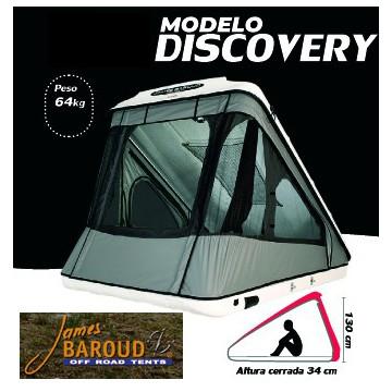Tienda Campaña Angular Techo JAMES BAROUD Discovery