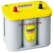 Bateria Optima Amarilla YTS-4.2 55ah. 12 v. Borne + izquierda + adicional