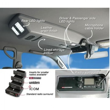 Consola de techo longitudinal Toyota HDJ 200