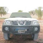 Soporte cabrestante oculto para Nissan Patrol GR