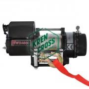 Winch electrico 4500lb - 2041kg 12v con mando inalámbrico