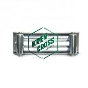Guía de rodillos Inox para winch 8000-9500-10000-12000