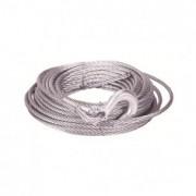 Cable acero 11mm x 26m con  gancho
