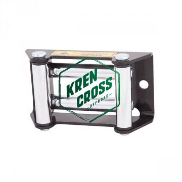 Guía de rodillos cromada para winch 2000-2500-3000-3500