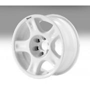 "Llanta Aluminio Racer Blanca 8X17"" ET AD+40"
