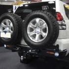 Soporte de rueda izquierda Kaymar para  Toyota KDJ 120