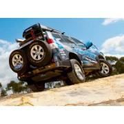 Parachoques trasero Kaymar con sensor para Toyota KDJ 150 después de Junio 2011