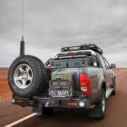 Soporte de rueda izquierda Kaymar para  Toyota Hilux / Vigo
