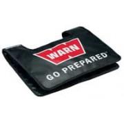 Manta protectora cable acero con logo WARN