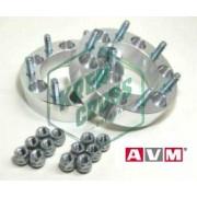 Separadores de Rueda Aluminio AVM 40mm para Daihatsu Rocky - Feroza