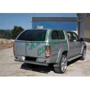 Hard Top Starlux de LINE XTRAS para Ford Ranger DC Doble Cabina desde 06 con ventanas laterales correderas