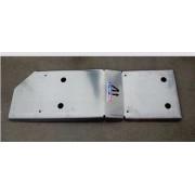 Protector Deposito Gasolina Duraluminio 6mm ALMONT4WD para Toyota HILUX D4D VIGO