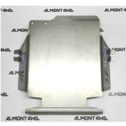 Protector Diferencial Trasero Duraluminio 6mm ALMONT4WD para Mitsubishi Montero IV V80 V90