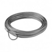 Cable acero 5mm x 15m sin gancho