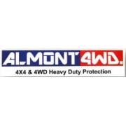 Protector Diferencial Trasero Duraluminio 6mm ALMONT4WD para Nissan Y60 Y61 R20 D22