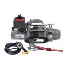 NUEVO Cabrestante Portátil DV-6000 S/12v, 2.722 kg, cable sintético