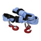 Cable sintético T-MAX 12mm x 28m 24700LB para winch de 15000LB