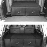Cajoneras de almacenaje para Toyota Land Cruiser  J2000