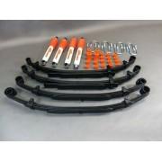 Kit completo de elevación Trail Master para Samurai, SJ, Gas, Corto, +50MM Sport