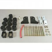 Kit body lift TRAIL MASTER para Wrangler JK, +50mm