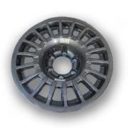 "Llanta BRAID Winrace T 4x4 Monoblock 7 1/2""x17"" gris antracita"