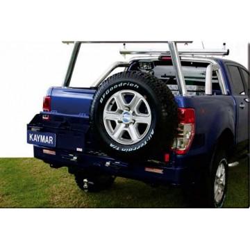Parachoques trasero Kaymar para Ford / Mazda  Ranger / BT50 (pick up)