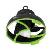 Ventilador con luz LED IRONMAN para tienda o toldo