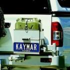 Soporte jerrycan simple derecha Kaymar para Isuzu D-Max