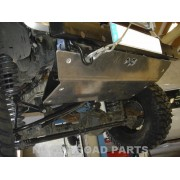 Protección delantera Duraluminio 8mm de N4 para Jeep JK