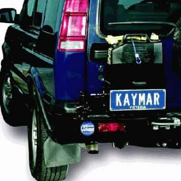 Soporte jerrycan simple izaquierda  Kaymar para Land Rover Discovery II TD5