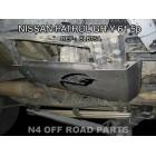 Protector transfer Duraluminio 8mm de N4 para Nissan Patrol GR Y61 5P hasta 03