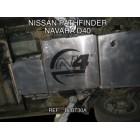 Protector transfer Duraluminio 8mm de N4 para Nissan Navara D23/NP300 desde15