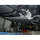 Protector cambio y transfer Duraluminio 8mm de N4 para Toyota Land Cruiser Serie 8 Hdj80