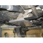 Protector cambio y transfer Duraluminio 8mm de N4 para Toyota Land Cruiser VZJ95 Gasolina Automatico