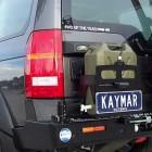 Soporte jerrycan simple izquierda  Kaymar para Land Rover Discovery III