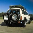 Parachoques trasero Kaymar para Nissan Patrol Y61