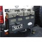 Soporte jerrycan doble izquierda  Kaymar para Nissan Patrol Y61