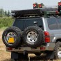 Parachoques trasero Kaymar para Nissan Patrol Y61 +05